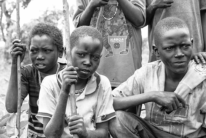 Young Fulani herdsmen. According to Amnesty International the conflict between herders and farmers in Nigeria has resulted in more than 3,600 deaths from 2016 to 2018. Photo: Neptunian83 Attribution-ShareAlike 4.0 International (CC BY-SA 4.0)