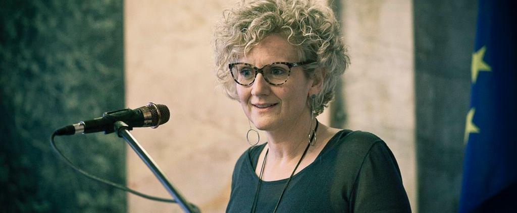 Debora Fino, president of Re Soil Foundation.