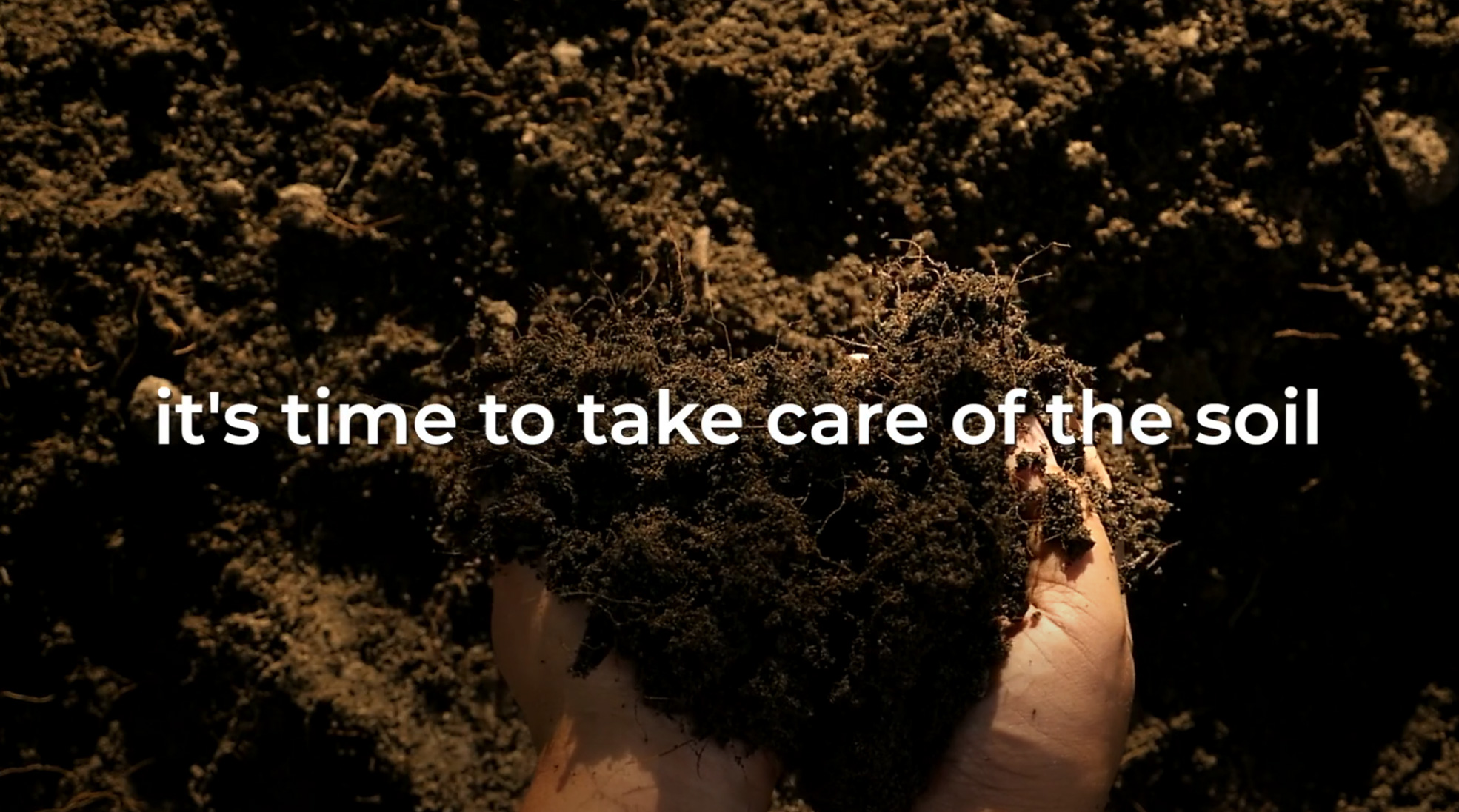 Re Soil Foundation | it's time to take care of the soil