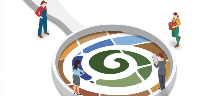 La FAO, attraverso la sua Global Soil Partnership, ha sviluppato una serie di indicatori inseriti in un protocollo per verificare la gestione sostenibile dei suoli. FOTO: FAO.