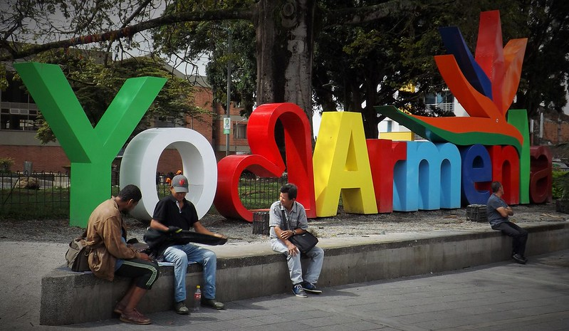 Armenia, the capital of the department of Quindío. The reconversion of the city's arena is one of the many projects carried out in the country in order to preserve and promote biodiversity. Photo: young shanahan Attribution 2.0 Generic (CC BY 2.0)