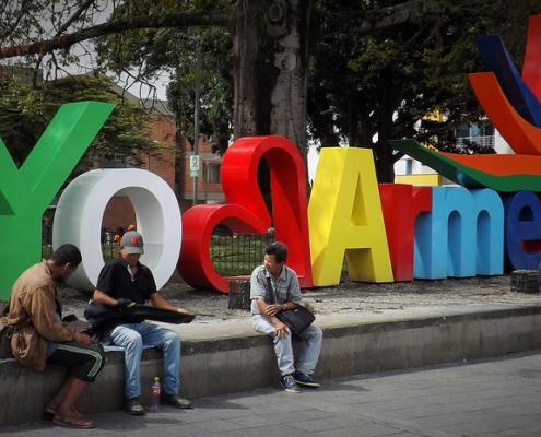 Armenia, capoluogo del dipartimento di Quindío. La riconversione dell'arena cittadina rappresenta un esempio dei progetti condotti nel Paese per la tutela e la promozione della biodiversità. Foto: young shanahan Attribution 2.0 Generic (CC BY 2.0)