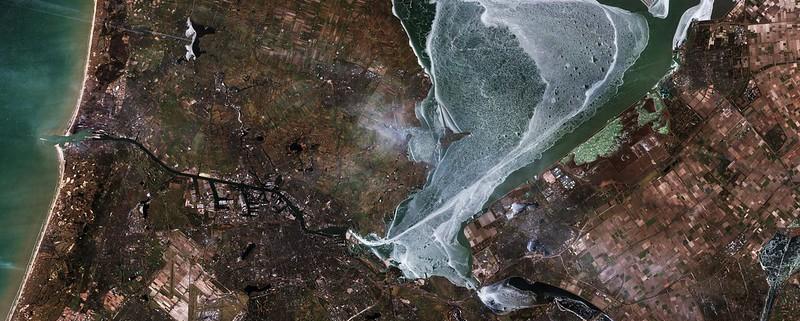 L'elaborazione degli indici del Land Monitoring Core Service si basa sull'analisi di immagini raccolte da sensori terrestri e satellitari. Foto: European Space Agency Attribution-ShareAlike 2.0 Generic (CC BY-SA 2.0)