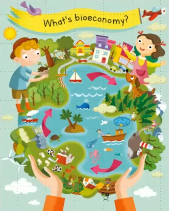 Bioeconomia educazione bambini transizione ecologica
