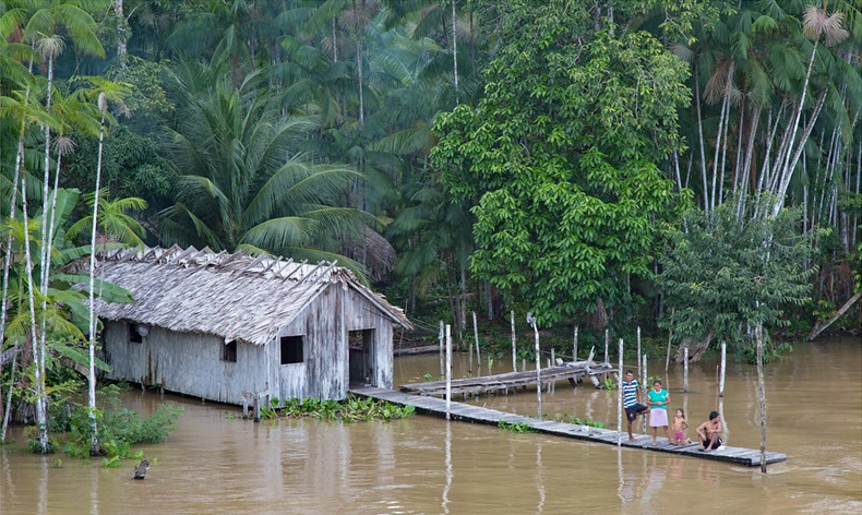 If foreign aid is made available Brazil will succeed in reducing Amazon deforestation by 30%-40%, says Environment Minister Ricardo Salles. Photo: Martha de Jong-Lantink Attribution-NonCommercial-NoDerivs 2.0 Generic (CC BY-NC-ND 2.0)