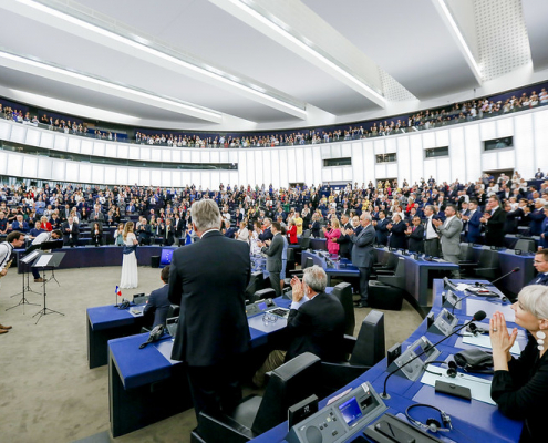 """The request by MEPs comes in response to a troubling picture: as of today, EU land in poor condition accounts for at least 60 percent of total arable land. Photo: CC-BY-4.0: © European Union 2019 - Source: EP"""". (creativecommons.org/licenses/by/4.0/)"""