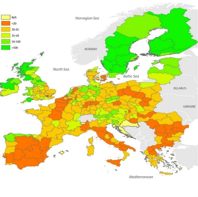 Carbonio organico, sostanza organica, suolo, agricoltura, europa, JRC