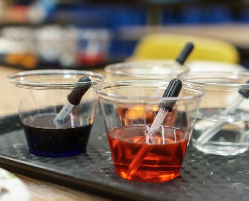 esperimenti chimica biochimica bioeconomia biopolimeri
