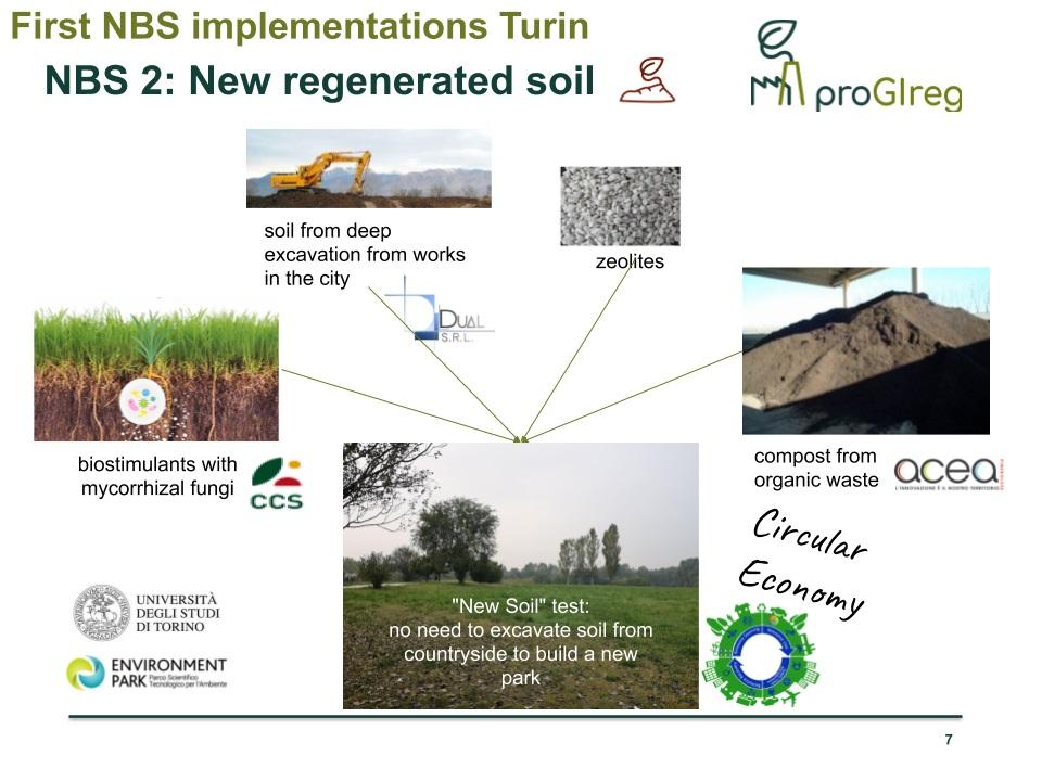 Il new soil nasce dalla combinazione tra materiale di scarto e la sostanza organica derivante dal compostaggio di materiali vegetali e rifiuti umidi. Immagine: Comune di Torino