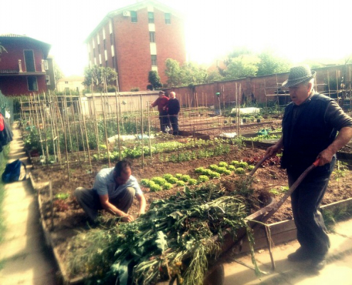 Orti ma non solo. La crisi economica generata dal Covid-19 ha spinto 4 italiani su 10 a dedicarsi a una qualche forma di agricoltura urbana. Foto: Comune di Reggio Emilia Attribution-NonCommercial-NoDerivs 2.0 Generic (CC BY-NC-ND 2.0)