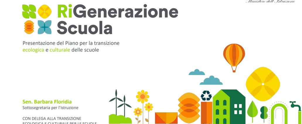 La rigenerazione culturale è alla base della transizione ecologica. Immagine: Ministero dell'Istruzione
