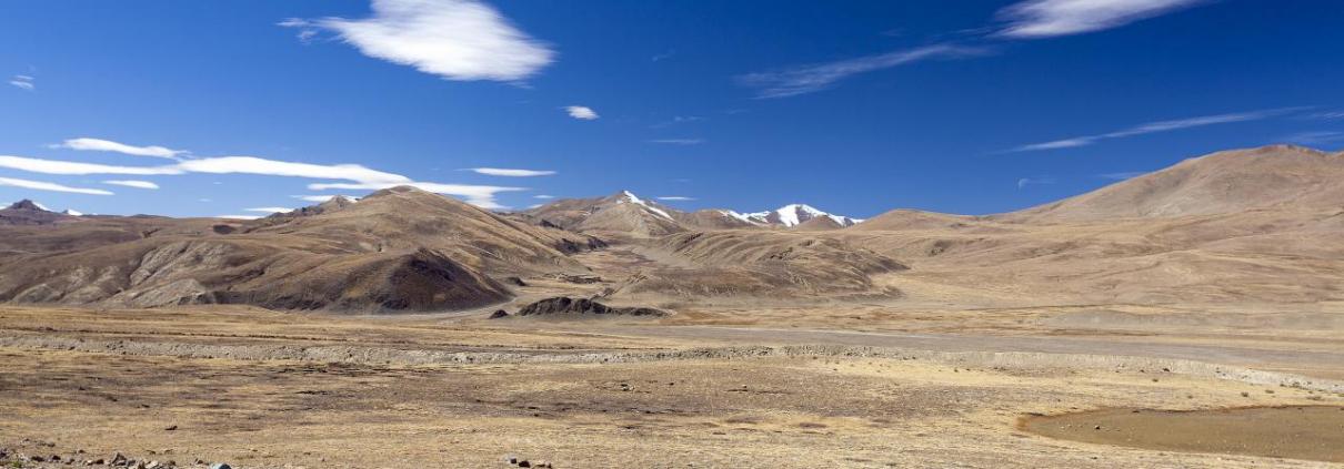 L'Asia centrale è una delle aree del Pianeta maggiormente minacciata dalla desertificazione. Foto: Tibet, Cina. Christopher Michel Attribution 2.0 Generic (CC BY 2.0)