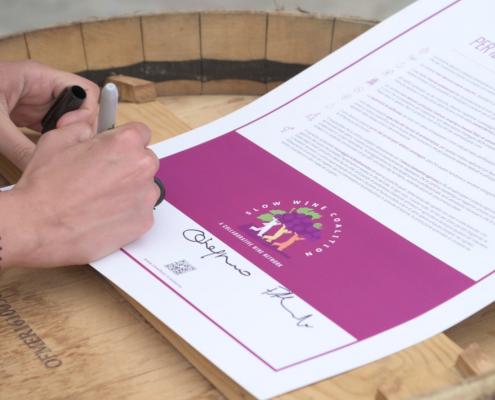 Manifesto Slow wine slow food