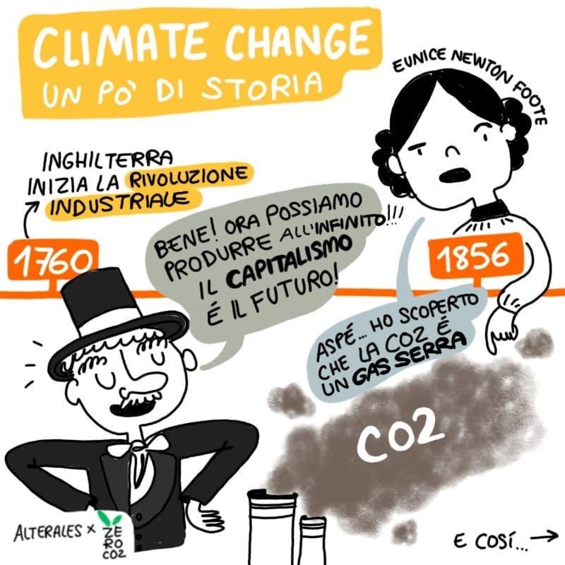 La storia a fumetti del cambiamento climatico, secondo i ragazzi di Fridays For Future.