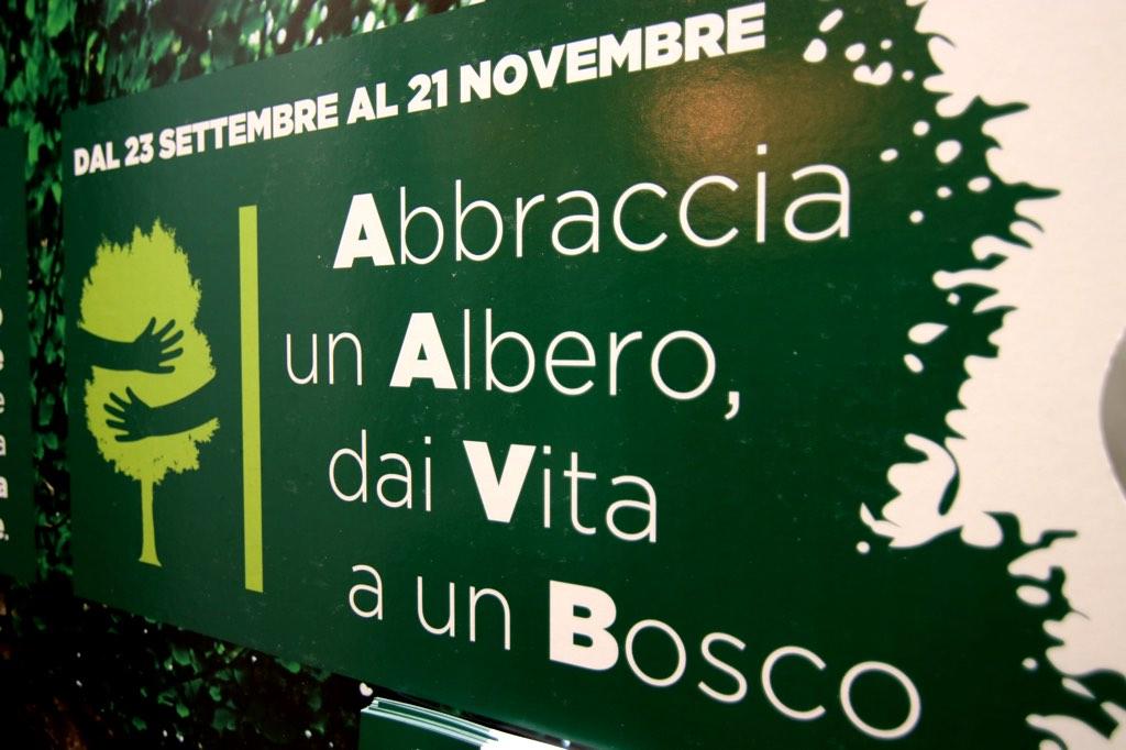 La campagna di raccolta fondi lanciata da Unicoop Firenze per raggiungere l'obiettivo di piantumare 3000 alberi nell'area di Montopoli. FOTO: Unicoop Firenze.