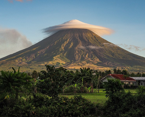 Soil analysis of the Mayon volcano in the Philippines has revealed some promising species of bacteria. Photo: Patryk Reba Attribution-ShareAlike 4.0 International (CC BY-SA 4.0)