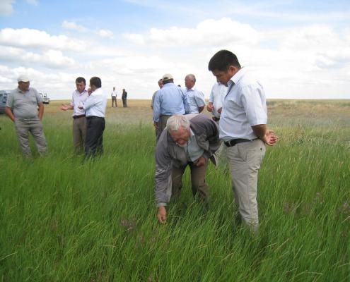 Una corretta gestione del suolo contribuisce alla mitigazione del clima, sostiene la FAO. Foto: United Nations Development Programme in Europe and CIS Attribution-NonCommercial-ShareAlike 2.0 Generic (CC BY-NC-SA 2.0)
