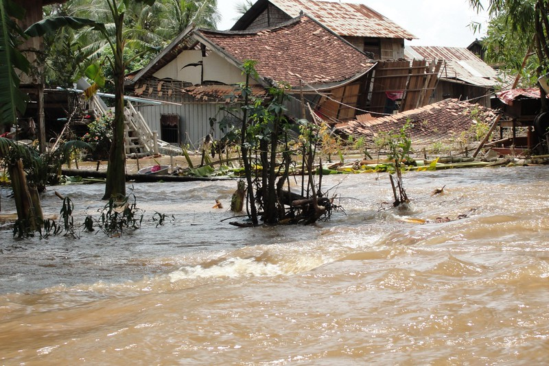 The share of global population exposed to flood events has increased by 24% in the 21st century. Photo: Thearat Touch EU/ECHO Attribution-ShareAlike 2.0 Generic (CC BY-SA 2.0)